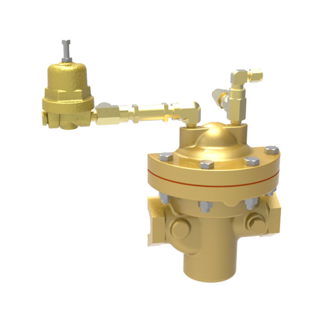 Pilot Operated Gas Regulators - PTR-1